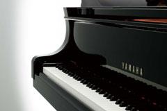 Yamaha C1X Grand piano keyboard