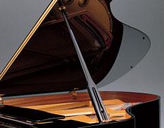 Yamaha C1X Grand piano lid